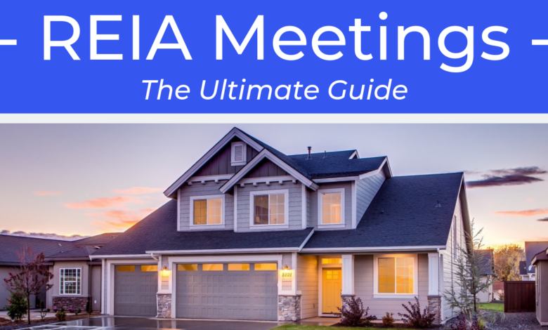 Benefits of joining Real Estate Investor Association (REIA) meetings